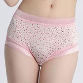 闕蘭絹  舒適親膚100%蠶絲內褲-8888(印花粉)