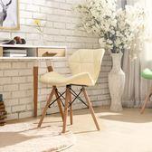 餐椅 椅子現代簡約書桌椅家用餐廳靠背椅電腦椅凳子實木北歐餐椅 免運快速出貨