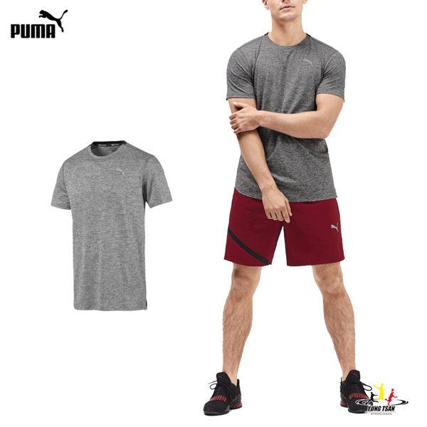 Puma Ignite 男 灰 短袖上衣 運動 排汗 透氣 訓練 健身 圓領 短袖 T桖 51843503