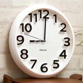 掛鐘 時尚創意靜音掛鐘現代簡約時鐘個性數字鐘錶藝術客廳石英鐘igo 俏腳丫