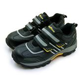 LIKA夢 GOODYEAR 固特異 透氣鋼頭防護認證安全工作鞋 雷霆系列 黑銀黃 83910 男