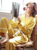 月子服   純棉產后產婦哺乳期喂奶外出孕婦睡衣薄款家居服