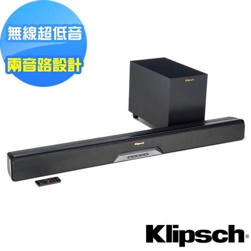 【美國Klipsch】2.1聲道單件式環繞SoundBar RSB-6