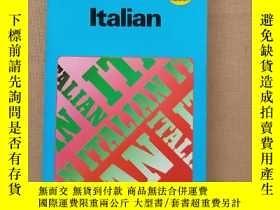 二手書博民逛書店Teach罕見yourself:Italian (自學教程:意大