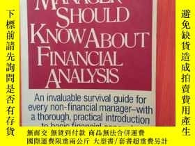 二手書博民逛書店WHATEVERY罕見MANAGER SHOULD KNOWAB