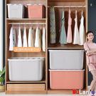 玩具收納盒 衣服收納箱 裝玩具 箱子 有蓋 加厚 超大 衣物儲物 整理箱