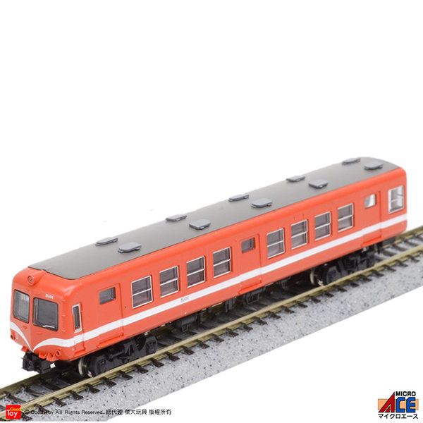 【Good Toy】ACE A0482 電車 岳南電車5000系 赤蛙・改良品 (2輛)