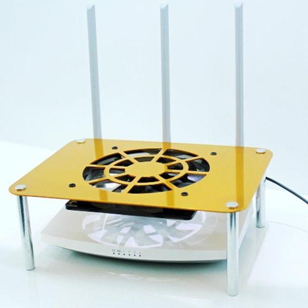 純金屬鋁材打造 路由器散熱器 網件散熱架 機頂盒散熱器 IGO