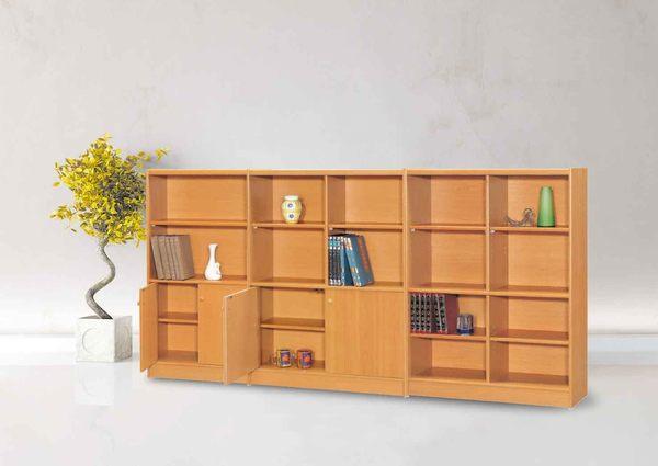 【IS空間美學】A-08櫻桃木收納書櫃
