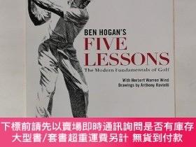 二手書博民逛書店Ben罕見Hogan s Five Lessons: The Modern Fundamentals of Gol