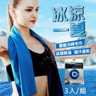 【StepDragon加購】急速降溫涼感巾3入一組 長80cmX寬30cm