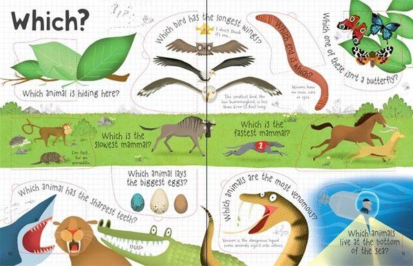 【科學操作書】LIFT THE FLAP QUESTIONS AND ANSWERS ABOUT ANIMALS/ / 硬頁精裝