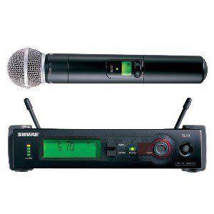 【名展音響】 美國SHURE無線麥克風 SLX24/SM58-L4頂級人聲收音 專業人聲首選