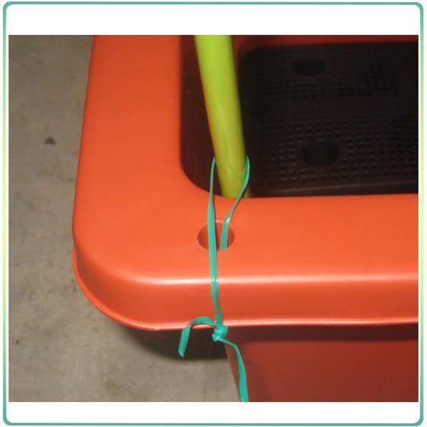 【綠藝家】小型居家網室配件組(含32目防蟲網、綠竹4支、魔帶)