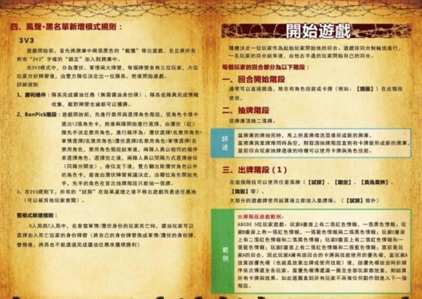 『高雄龐奇桌遊』 風聲 黑名單 The Black list 繁體中文版 正版桌上遊戲專賣店