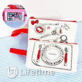 〖LifeTime〗﹝Kitty手拿手機包5.8吋﹞正版觸控手機包 收納包 斜背包 側背包 凱蒂貓 B01883