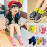 韓國百搭糖果色捲邊棉堆堆襪 短襪 中筒襪 男女童 橘魔法 Baby magic 現貨 襪子 短襪 襪 童 兒童 童裝
