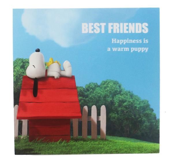 【卡漫城】 Snoopy 便條本 正方形 Memopad ㊣版 史奴比 史努比 便條紙 N次貼 Peanuts 日本製