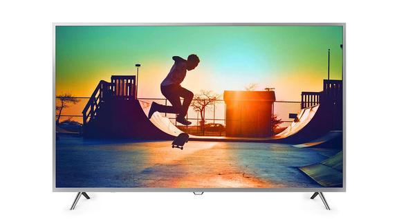 免運費+基本安裝 PHILIPS 飛利浦 55吋 4K HDR 智慧聯網 液晶電視/液晶顯示器+視訊盒 55PUH6073