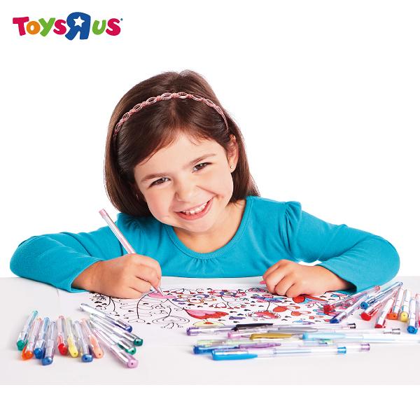 玩具反斗城【 UNIVERSE OF IMAGINATION】50隻兒童色筆