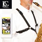 【小叮噹的店】法國 BG S40SH 男用 雙背 薩克斯風吊帶 X型 (Alto.Tenor.Bariton) 3色