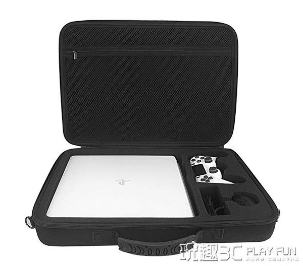 ps4包 ps4收納包 索尼PS4主機包slim VR PRO大容量單肩防震便攜手提包硬 LX 聖誕節