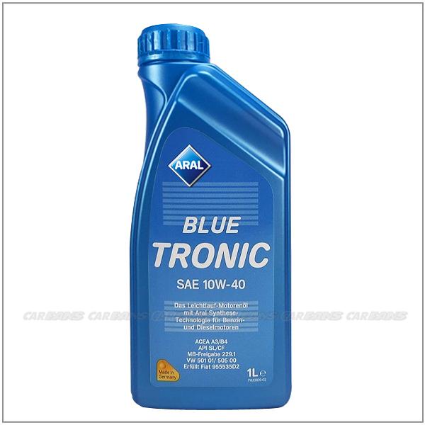 【愛車族購物網】亞拉ARAL BLUE TRONIC SAE 10W-40 合成機油