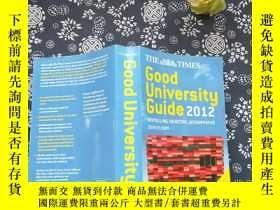 二手書博民逛書店THE罕見TIMES Good University 2012Y