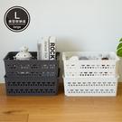 收納籃 韓國製 收納 置物盒 收納盒 【G0064】美型簍空收納盒L(兩色) 韓國製 收納專科