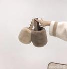 熱賣毛絨包 毛毛網紅包包女2021新款韓版迷你手提女包冬季毛絨斜背小包水桶包 coco