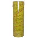 (促銷)炎洲出品OPP文具膠帶(18mm*40M)(16捲/支)