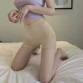 新款女蕾絲花邊緊身打底褲防走光夏季新款修身提臀內搭短褲 伊蘿鞋包