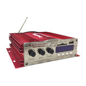 KINTER MA-200 綜合擴大機 家用/汽車/機車 專業型四聲道 高效能大功率 多機一體
