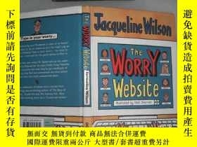 二手書博民逛書店The罕見WORRY WebsiteY206421 Jacqueline Wilson   傑奎琳·威爾遜