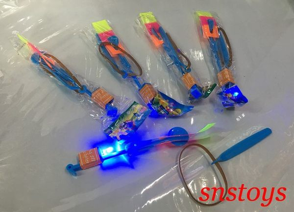 sns 古早味 超夯 玩具 LED燈 夜光 閃亮 竹蜻蜓 飛得高 會發亮的發色器(5個 / 組)