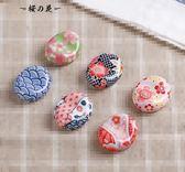創意櫻花筆托筆架 ZAKKA陶瓷筷架日式和風餐具櫻花可愛筷架筷子托【櫻花本鋪】