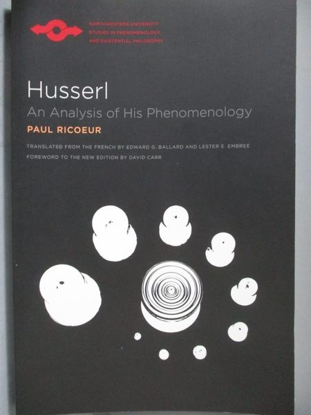 【書寶二手書T9/哲學_ZBL】Husserl-An Analysis of His Phenomenology_Ric