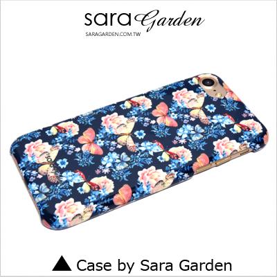 客製化 手機殼 iPhone 7 保護殼 蝴蝶碎花