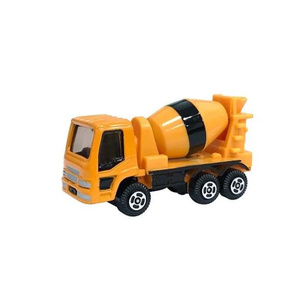 A&L奧麗迷你合金車 NO.129 水泥車 滑行車 混凝土攪拌車 工程模型車(1:64)【楚崴玩具】