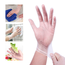 SGS一次性手套 PVC加厚手套 無粉手套 防水防油手套 隔離手套-JoyBaby
