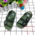 時尚露趾軟底塑料涼鞋LVV1462【棉花糖伊人】