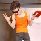 韓版修身時尚運動健身背心打底衫