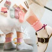 兒童襪子秋冬純棉男女童寶寶中筒白襪子春秋款中大童  萬客居