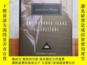 二手書博民逛書店One罕見Hundred Years of Solitude 百年孤獨 Gabriel Garcia Marque