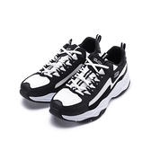 SKECHERS D'LITES 4.0 閃電熊貓休閒老爹鞋 黑白 237225BKW 男鞋 運動
