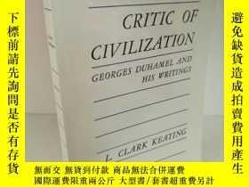 二手書博民逛書店Critic罕見of Civilzation Georges D
