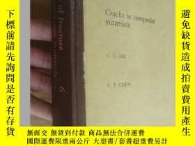 二手書博民逛書店MECHANICS罕見OF FRACTURE:Cracks in