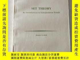 二手書博民逛書店set罕見theory an introduction to indedence proofsY447092