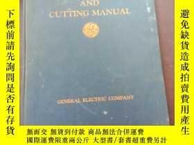 二手書博民逛書店arc罕見welding and cutting manualY