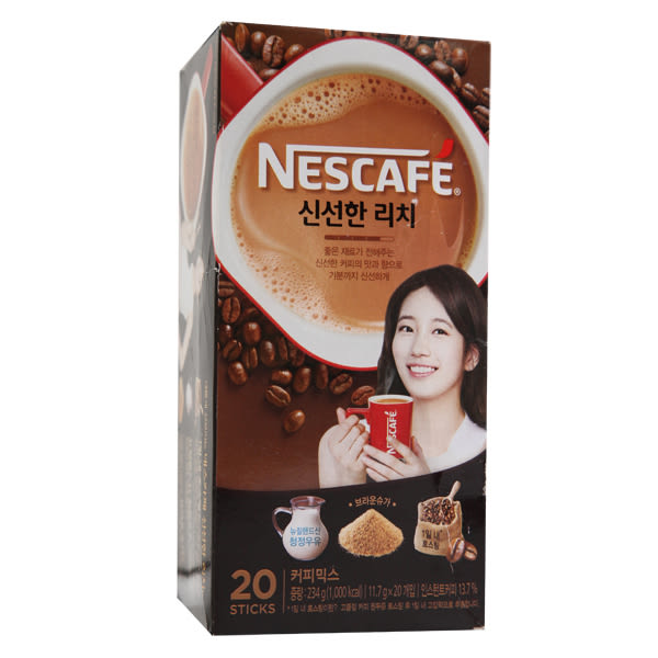 雀巢韓式濃醇咖啡20入/盒